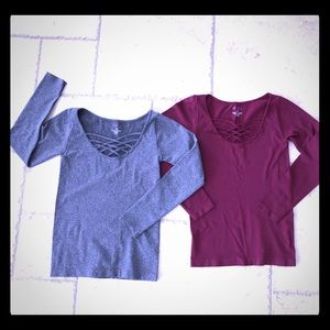 Tops - Cute cross strap design, Soft and Stretchy